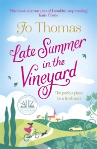 Review: Late Summer in the Vineyard by Jo Thomas