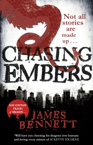 Review:Chasing Embers by James Bennett