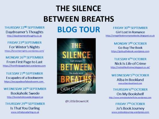 Blog Tour: Chapater One Extract – Silence Between Breaths by Cath Staincliffe